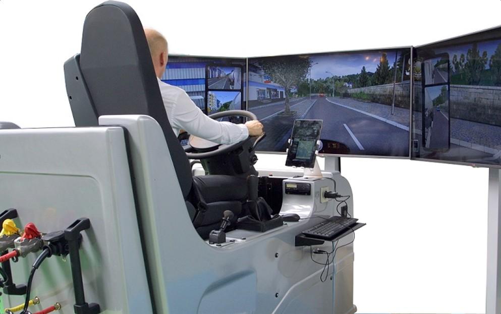 Simu PL Tehergépkocsi szimulator
